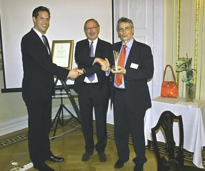 "FH Flensburg – Förderpreis "" WIND 2013"" geht an  Mario Richter"