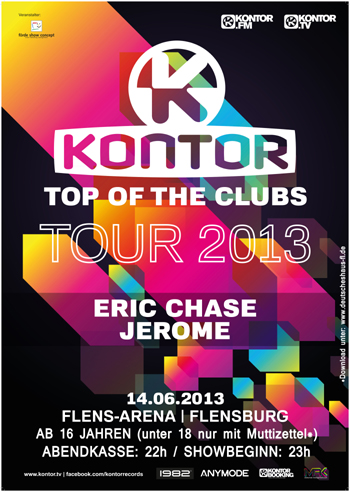 Flens-Arena Flensburg – KONTOR TOP OF THE CLUBS – Tour 2013