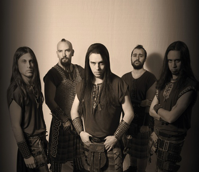 Celtic Folk Metal Band Skiltron live im Roxy Concerts Flensburg