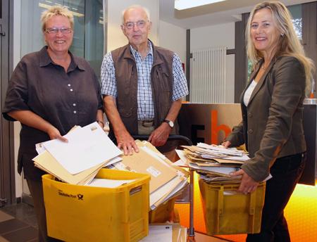 FH Flensburg – 4500 Briefumschläge für einen guten Zweck