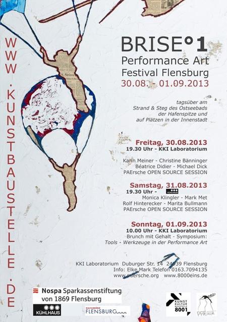 BRISE°1 – das Performance Festival beim Kühlhaus Flensburg und im KKI