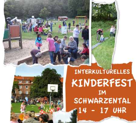 Flensburg – Interkulturelles Kinderfest auf dem Spielplatz Schwarzental