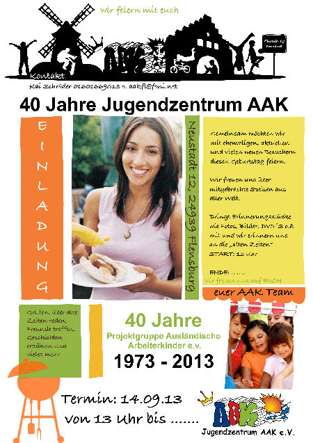 So funktioniert Migration! 40 Jahre Jugendzentrum AAK in Flensburg