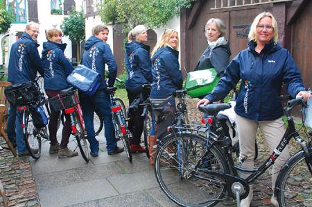 70 Flensburger Unternehmen radeln für den Klimaschutz