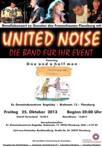 Benefizkonzert für das Flensburger Frauenhaus
