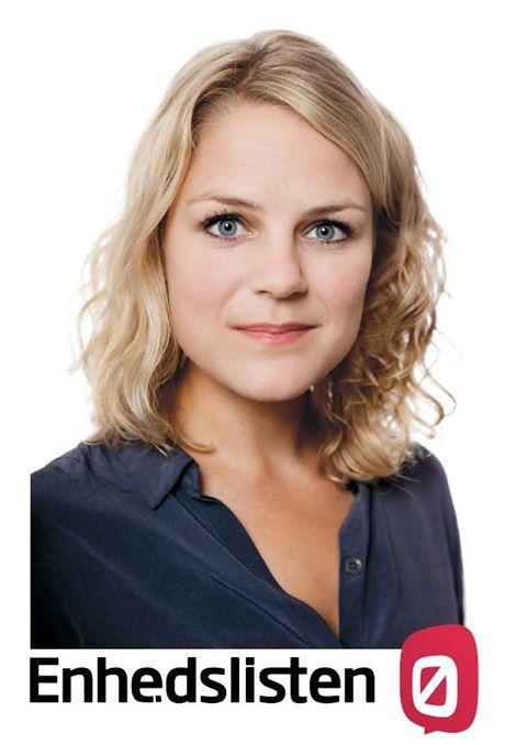 Bundestagswahl 2013 –  Dänin Johanne Schmidt-Nielsen  in Flensburg – Wahlkampfendspurt der Partei DIE LINKE