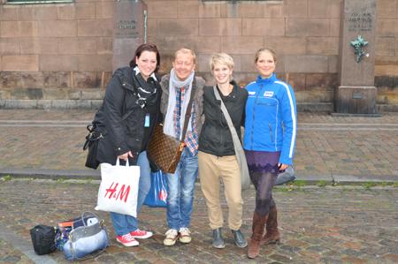Tanja aus Flensburg und Jana aus Harrislee zum Shopping nach Kopenhagen