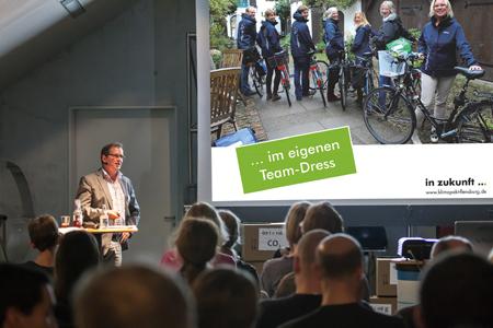 Klimapakt Flensburg – Neuer Rekord: Flensburger Radler-Teams fuhren zweimal  um die Welt