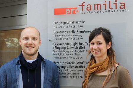Neues sexualpädagogisches Team bei pro familia Flensburg