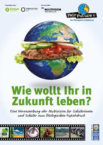 """Klimapakt Flensburg präsentiert Multivisions‐Show """"Fair Future – der Ökologische Fußabdruck"""""""