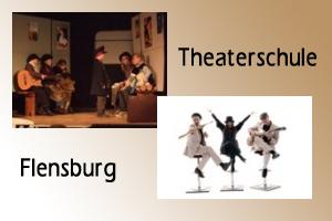 Programm der Theaterschule Flensburg im Oktober
