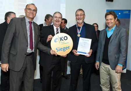 Fachbereich Vermögen und TBZ der Stadt Flensburg ausgezeichnet bei der Energie Olympiade 2013