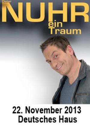 Wirklich Nur ein Traum? Dieter Nuhr live im Deutschen Haus Flensburg