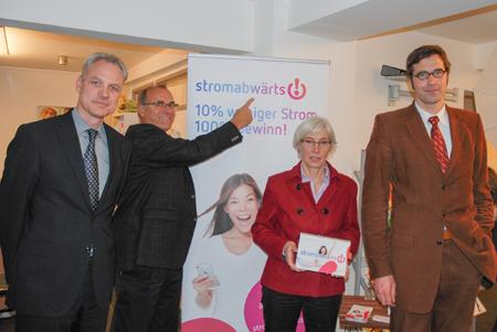 """Stadtwerke Flensburg unterstützen Stromspar-Aktion """"stromabwärts"""""""