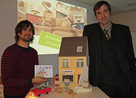 Klimapakt Flensburg präsentiert Animationsfilm und Malbuch für Kinder