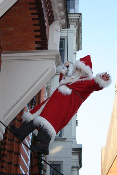 Samstag ist wieder Weihnachtsmannwecken in Flensburg
