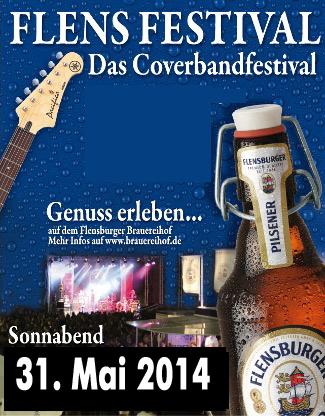 Vorverkauf für die 10 Jahre Flens-Festival Party 2014 gestartet