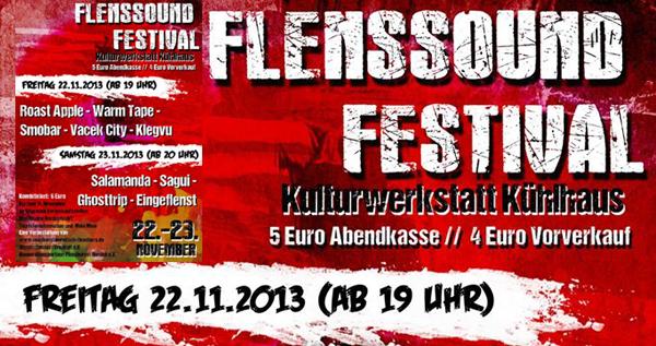 Flenssound – Zwei Tage Festival im Flensburger Kühlhaus