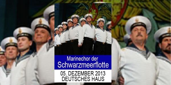 Kräftige Stimmen – Der Marinechor der Schwarzmeerflotte im Deutschen Haus Flensburg