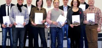 Frischgebackene Handelsfachwirte in Flensburg erhielten Zeugnisse