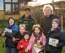 Flensburger Klimapakt: Obstbäume für die Friholt-Schule!