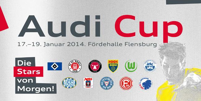 Audi Cup 2014 in Flensburg: Jugendfußball vom Allerfeinsten
