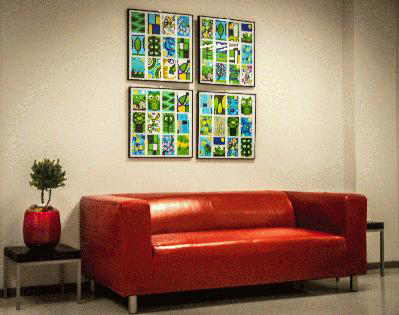 Bis März 2014 – Kunstausstellung von Gabriele Schmidt im Gesundheitshaus Flensburg