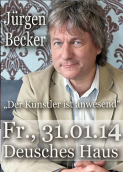 Der Künstler ist anwesend – Jürgen Becker im Deutschen Haus Flensburg