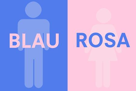 Blau Und Rosa