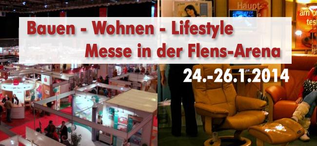 Informative Messe in der Flens-Arena – Bauen-Wohnen-Lifestyle