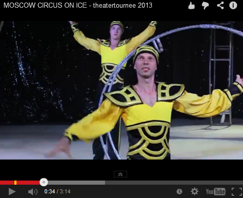 Eisglatte Supershow: Moscow Circus on Ice im Deutschen Haus – mit Video