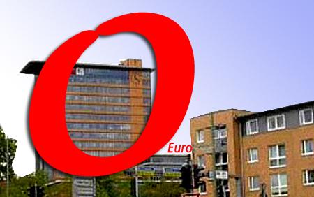 Haushaltsergebnis der Stadt Flensburg: Schreiben glücklich eine Rote Null