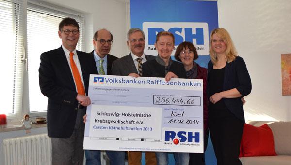 Carsten Köthe hilft helfen – Über 250.000 Euro gesammelt