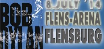 Der Pop-Prophet kommt nach Flensburg: Bob Dylan in der Flens-Arena