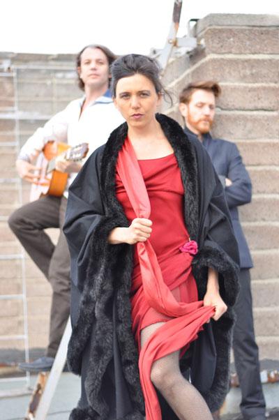 Luftschlossfabrik Flensburg macht Musik – Caroline du Bled zusamen mit Scorbüt live