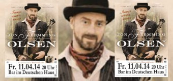 """Dittsche-Imbiss """"Ingo"""" gastiert als Jon Flemming Olsen in der Imagine Bar Flensburg"""