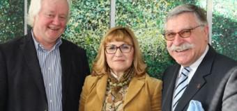 Stadtpräsidenten der Städte Flensburg, Neumünster und Kiel trafen sich, um Zusammenarbeit voranzutreiben