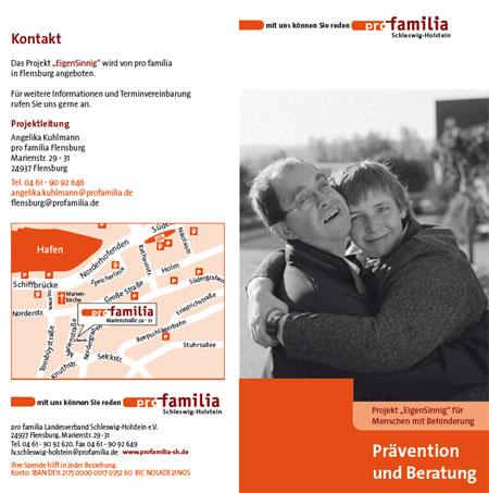 """Neues Angebot von pro familia in Flensburg: Projekt """"EigenSinnig"""""""