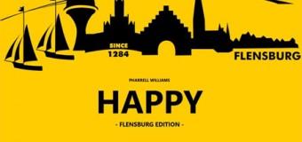 """Flensburg tanzte sich """"Happy"""" – Ab Dienstag im Video auf You Tube – Oberflächlichkeit hat eine Hymne"""