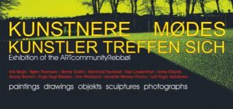Ausstellung in Bolderslev – Kunstnere mødes  Künstler treffen sich