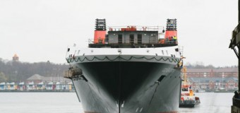 Platz für 700 Passagiere – RoPax-Fähre lief in Flensburg vom Stapel