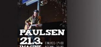 Björn Paulsen rockt den Imagine-Club im Flensburger Deutschen Haus