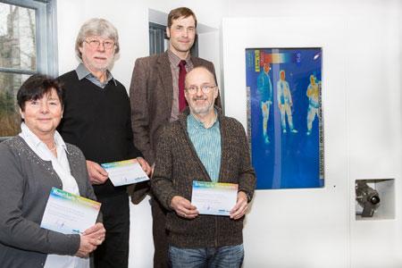 Klimapakt Flensburg übergab Preise für das Wärmebild-Quiz in der Phänomenta
