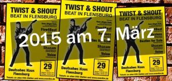 Und wieder Beatfieber im Deutschen Haus Flensburg: Twist & Shout 2015