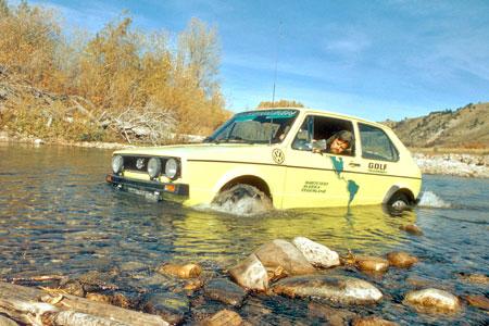 Für unsere VW Golf Fans: Mit dem Golf 1 durch Feuerland und Alaska