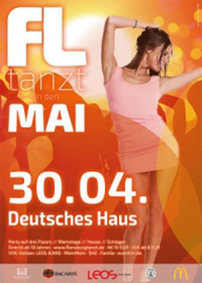 Flensburg tanzt in den Mai! Auch im Deutschen Haus