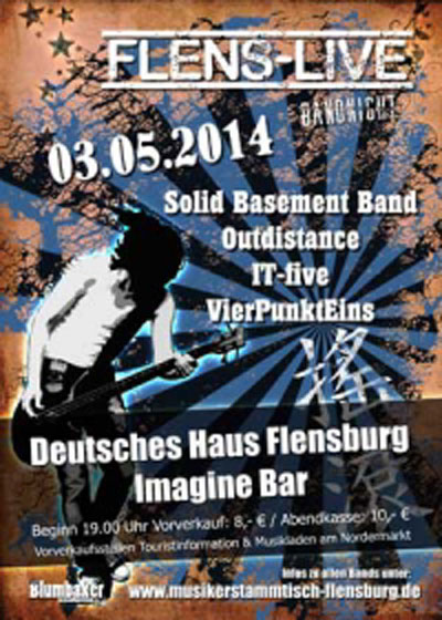 Viermal gut gerockt! Flens Live am 3. Mai in der Imagine Bar Flensburg