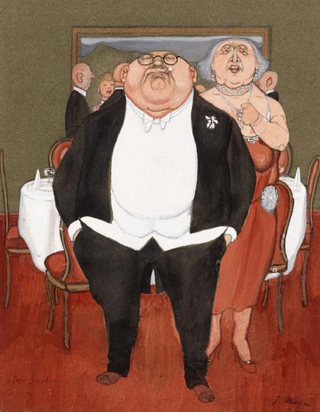 Museumsberg: Neue Ausstellung ab Mai: Der Flensburger Karikaturist Herbert Marxen