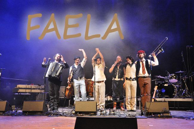 Faela kommen in das Flensburger Kühlhaus