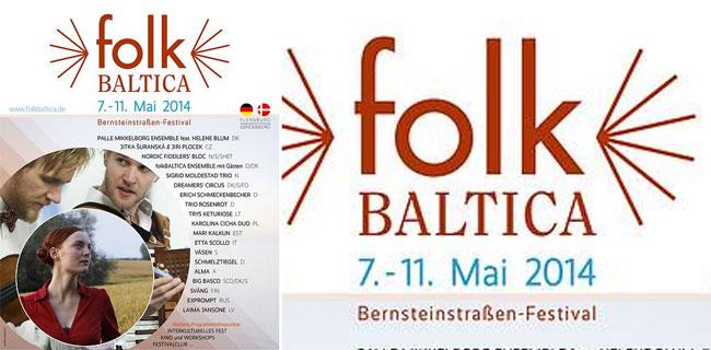 Ab 3. Mai 2014 – folkBALTICA geht in die zehnte Runde – die Programmübersicht